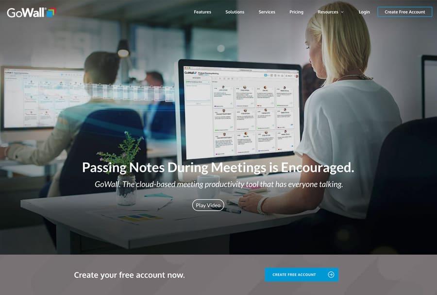 GoWall Website Design
